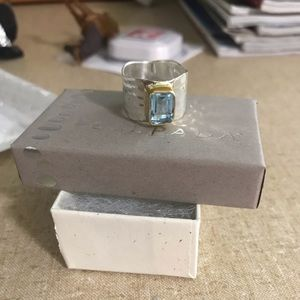 Silpada Lakeside Ring Size 8